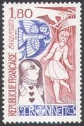 France 1982 Puppets/ Marionettes/ Clown/ Jester/ Dove/ Pigeon/ Bird/ Stories 1v n29394