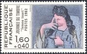 France 1982 Stamp Day/ Picasso/ Art/ Artists/ Paintings/ Modern/ People 1v (n44194)