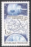 France 1983 Space  /  Satellite  /  Weather  /  Climate 1v (n28770)