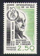 France 1986 Basch  /  People  /  Politics  /  Human Rights  /  Dove  /  Animation 1v (n38257)