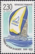 France 1990 Round the World Yacht Race/ Racing/ Sports/ Boats/ Sailing 1v (n46071)