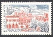 France 1991 Church/ Castle/ Buildings/ Ship/ Palm Trees/ Nature/ Philately/ Architecture 1v (n41271)