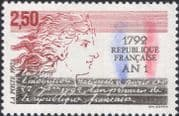 France 1992 Marianne/ Republic/ Politics/ People/ Government 1v (n46085)