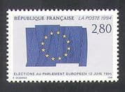 France 1994 European Parliament Elections  /  Flag  /  Politics  /  Government 1v (n37124)