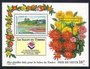 France 1994 Flowers  /  Plants  /  Nature  /  StampEx  /  Dahlias m  /  s (n32777)