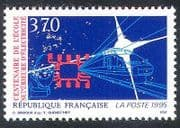 France 1995 Electricity  /  Train  /  Radio  /  Transport 1v n31345