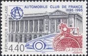 France 1995 French Automobile Club/ Cars/ Motoring/ Buildings/ Transport 1v (n46058)