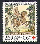 France 1995 Red Cross  /  Horse  /  Health  /  Medical 1v (n24787)