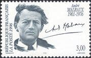 France 1996 Andre Malraux/ Writer/ Politician/ Politics/ Writers/ People 1v (n46083)