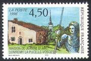 France 1996 Joan of Arc/ People/ History/ Buildings/ Church/ Heritage/ Architecture/ Religion 1v (n32944)