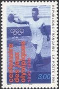 France 1996 Olympic Games 100th Anniversary/ Olympics/ Sports/ Discus 1v (n46069)