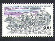 France 1997 Fish Cart  /  Horses  /  Transport  /  Commerce  /  Industry  /  Animals 1v (n36952)