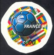 France 1998 World Cup Football Championships/ Sports/ WC/ Games/ Flags 1v s/a (n43394)