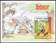 France 1999 Asterix/ Dog/ Cartoons/ Animation/ Stamp Day/ Red Cross/ Comic Books 1v m/s (n30558)