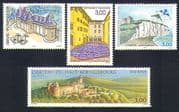 France 1999 Tourism/ Buildings/ Castles/ Kite Flying/ Horse/ Architecture 4v set (n32943)