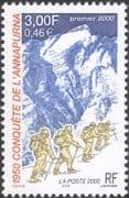 France 2000 Annapurna/ Mountain Climbing/ Mountaineering/ Sports/ People 1v (n45930)