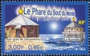 France 2000 Lighthouses/ Maritime Safety/ Buildings/ Architecture 1v (n46176)