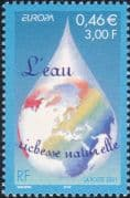 France 2001 Europa/ Water Resources/ Environment/ Nature/ Globe 1v (n46038)