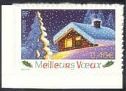 France 2002 New Year/ Seasonal Greetings/ Tree/ House/ Animation 1v s/a (n37367j)