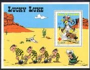 France 2003 Lucky Luke  /  Dog  /  Horse  /  Cartoon  /  Animation  /  Stamp Day 1v m  /  s (n36439)