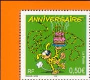 France 2003 Marsupilami  /  Cartoon  /  Birthday Greetings  /  Cake  /  Animation 1v n39439
