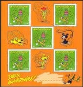France 2003 Marsupilami  /  Cartoon  /  Birthday Greetings  /  Cake  /  Animation 5v sht n36620