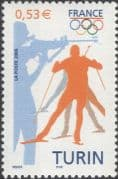 France 2006 Biathlon/ Winter Olympic Games/ Olympics/ Sports/ Shooting 1v (n43825b)