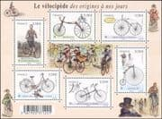 France 2011 Bicycles/ Bikes/ Cycling/ Transport History/ Sport/ Heritage  6v m/s (n29619a)