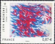 France 2011 Jean Bazaine/ Art/ Artist/ Paintings/ Abstract/ Modern/ People 1v (n45285)