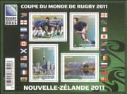 France 2011 Rugby World Cup Championship, New Zealand/ WC/ Sports/ Games/ Buildings/ Mountains 4v m/s (n45405)
