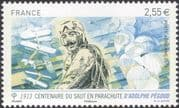 France 2013 Adolphe Pegoud/ Parachutist/ Planes/ Aircraft/ Parachute/ People 1v (n45560)