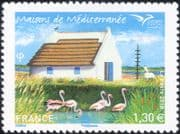 France 2018 House/ Flamingo/ Horse/ Buildings/ Architecture/ Animals/ Birds/ Tourism 1v (n46257)