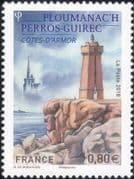 France 2018 Lighthouses/ Maritime Safety/ Buildings/ Architecture/ Rocks/ Tourism 1v (n46249)