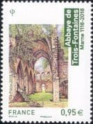France 2018 Trois-Fontaines Abbey/ Buildings/ Architecture/ Heritage/ History/ Religion 1v (n46255)