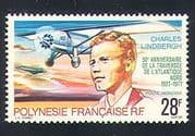 French Polynesia 1977 Lindbergh  /  Aviation  /  Planes  /  Aircraft  /  Flight  /  People 1v n33378