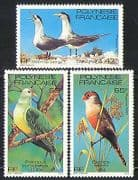 French Polynesia 1981 Birds  /  Nature  /  Dove  /  Terns 3v n31452