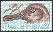 FSAT/TAAF 1977 Sooty Albatross/ Birds/ Wildlife/ Nature/ Conservation 1v (n22579)