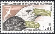 FSAT/TAAF 1986 Giant Petrel/ Birds/ Nature/ Wildlife/ Conservation 1v (n23395)