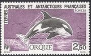 FSAT/TAAF 1993 Whale/ Orca/ Marine Mammals/ Nature/ Wildlife/ Conservation 1v (n23192)