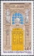 FSAT/TAAF 2002 Geographical Society/ Geography/ Door/ Building/ Statues 1v (n33551)