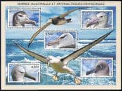 FSAT  /  TAAF 2007 Birds  /  Nature  /  Albatross  /  Wildlife  /  Conservation 5v m  /  s (n30190)
