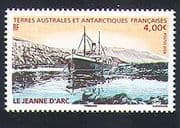 "FSAT  /  TAAF 2009 Ships  /  Boats  /  Nautical  /  Transport  /  ""Jeanne d'Arc"" 1v n32834"