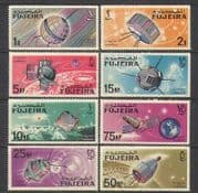 Fujeira 1966 Space  /  Satellites  /  Radio  /  TV 8v set (n25616)