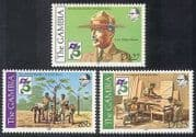 Gambia 1982 Baden Powell  /  Scouts  /  Scouting  /  Tree Planting  /  Leisure  /  People 3v n39971