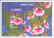Gambia 1995  Orchids/ Flowers/ Plants/ Nature/ Orchid/ Flora  1v m/s (n13288g)