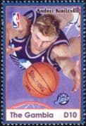 Gambia 2004 Andrei Kirilenko/ Basketball/ Sports/ Games/ People/ Sportsmen  1v (s1968n)
