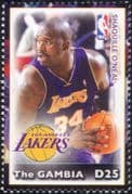 Gambia 2005  Shaquille O'Neal/ Basketball/ Sports/ Games/ People/ Sportsmen  1v (s1968m)
