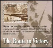 Gambia 2005 WWII  /  Military  /  Army  /  Soldiers  /  War  /  Battles  /  Dunkirk 1v m  /  s (n40118)