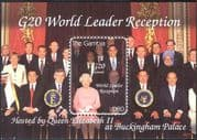 Gambia 2009 Queen Elizabeth II/ Obama/ Politics/ People/ Royalty/ Politicians 1v m/s (n43900)