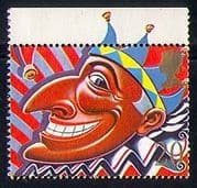 GB 1990 Smiles  /  Punch  /  Puppet  /  Animated  /  Greeting 1v n31130